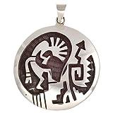 Kokopelli Anhänger Handarbeit Silber 925 Indianerschmuck Hopi