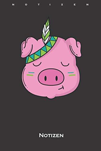 Tier Indianer Schwein mit...