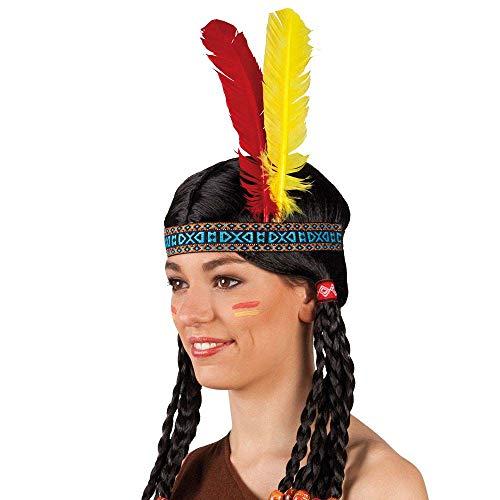 Boland 44136 - Stirnband Indianer, bunt,...