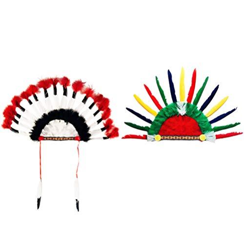 SOIMISS 2 Stücke Indian Kopfschmuck...