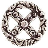Winkinger Anhänger Rad mit Ornamenten Silber 925 Medizinrad