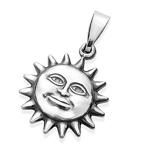 Anhänger Sonne glückliches Gesicht...