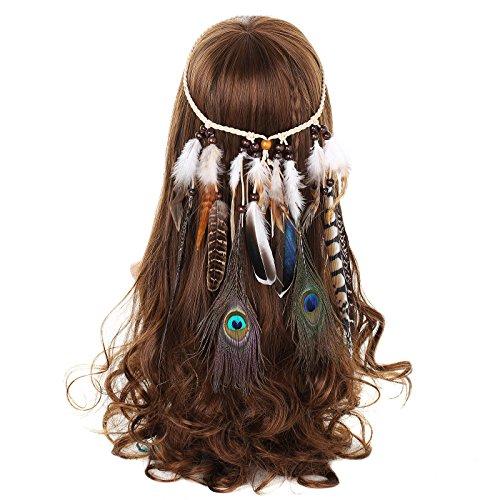 AWAYTR Damen Hippie Boho Indianer...