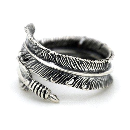 Serebra Jewelry Feder Ring 925 Sterling...