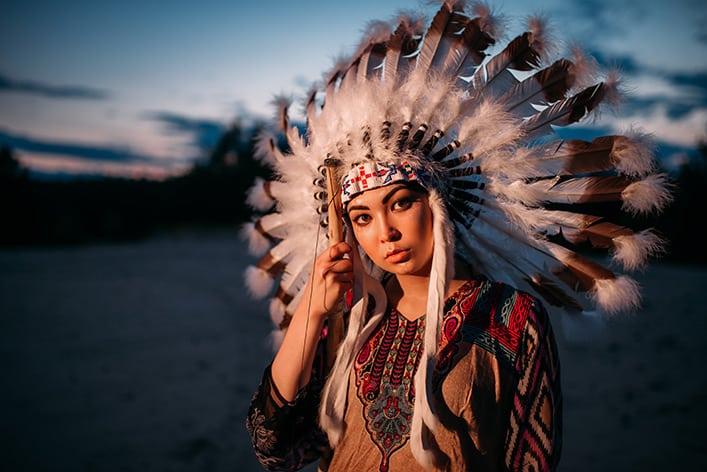 Indianerschmuck basteln